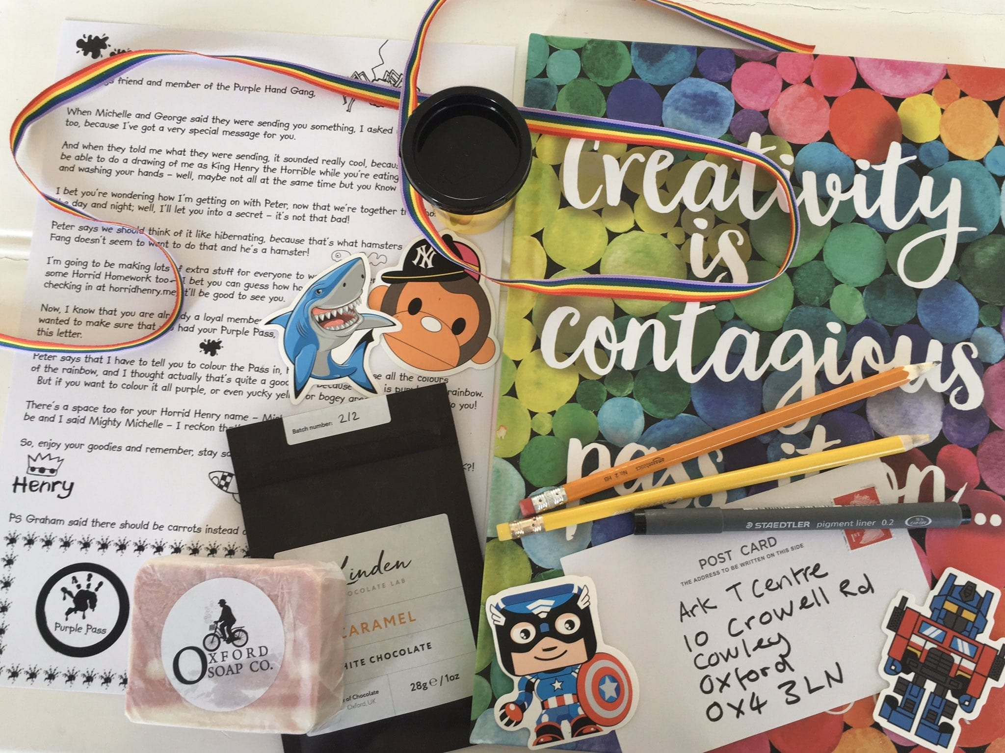 The Creative Care Packages