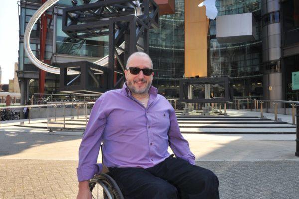 Tony Heaton and Paralympic Big 4 3 280512